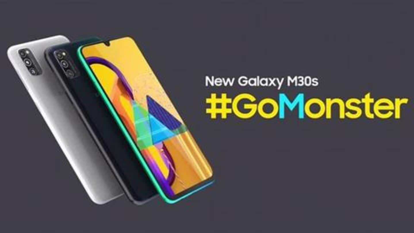 Samsung Galaxy M30s becomes cheaper by up to Rs. 2,000