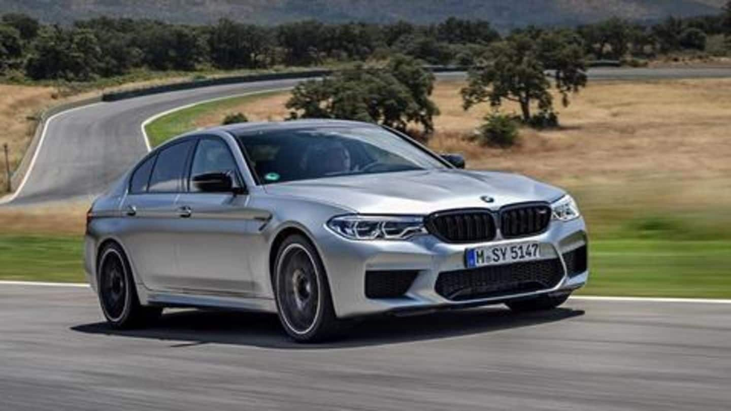 BMW launches M5 Competition in India at Rs. 1.55 crore
