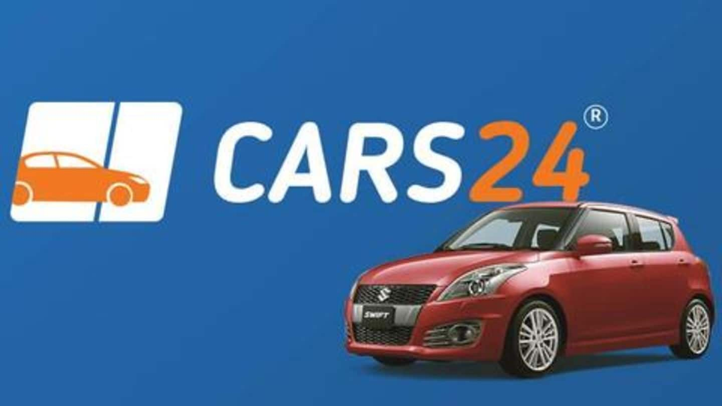 Cars24 raises $100 million in Series D round: Details here