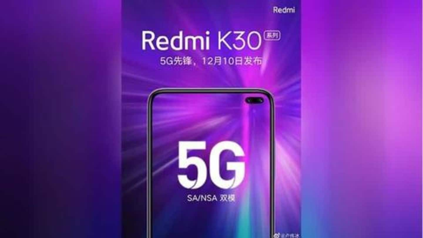 Xiaomi to launch Redmi K30 with 'World's First High-Resolution Camera'