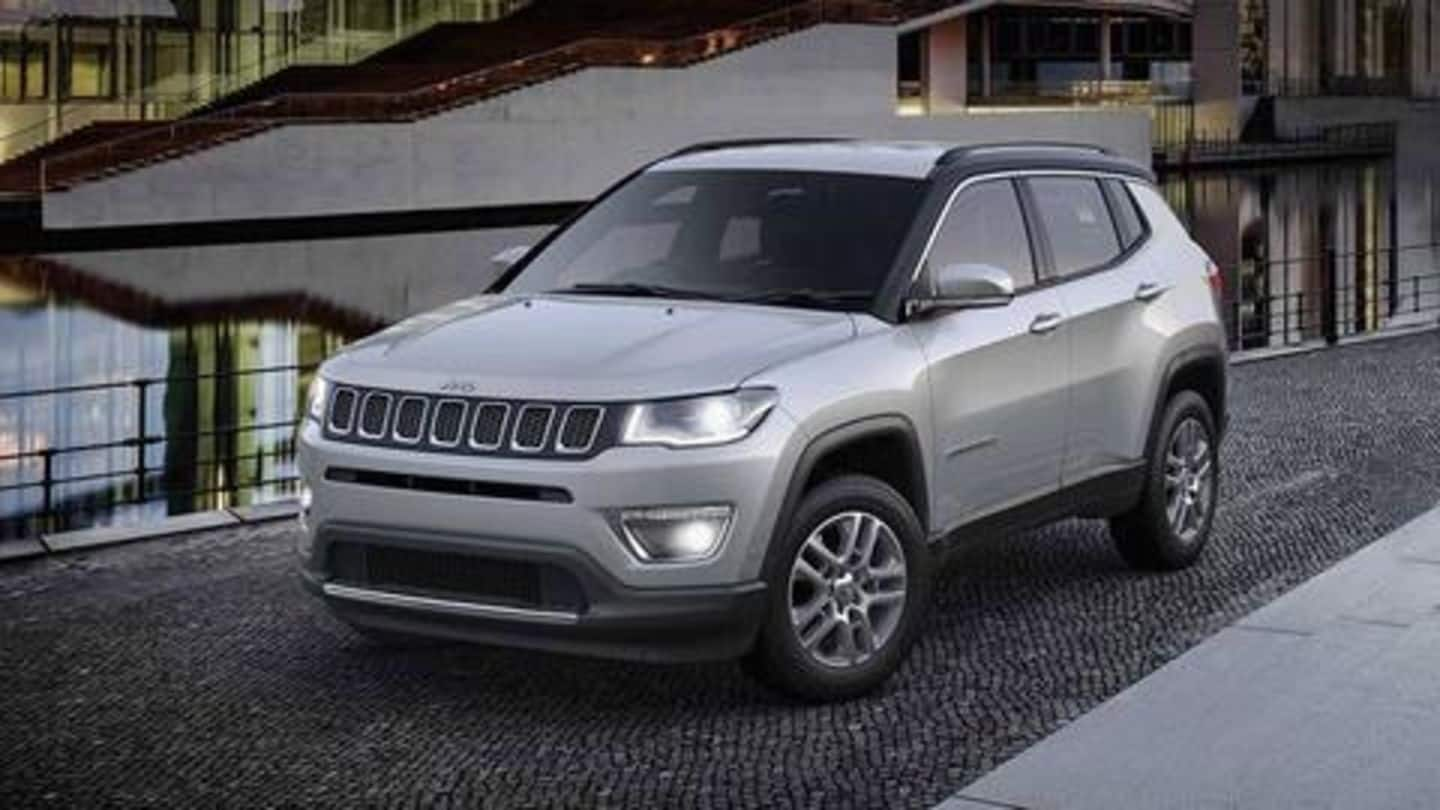 BS6-compliant Jeep Compass available at Rs. 16.49 lakh: Details here