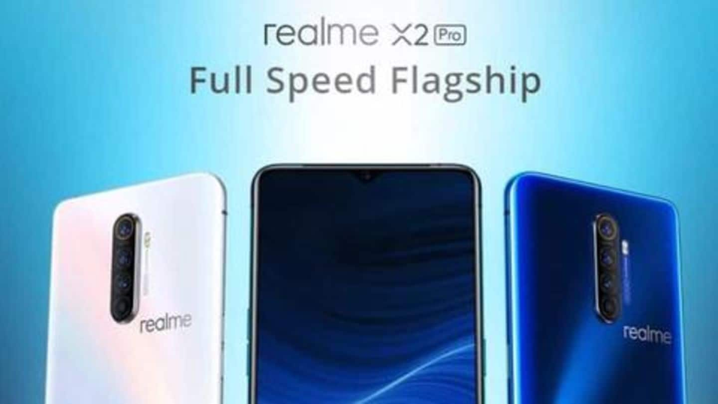 "Realme's flagship smartphone, with ""fastest charging speed in India,"" launched"