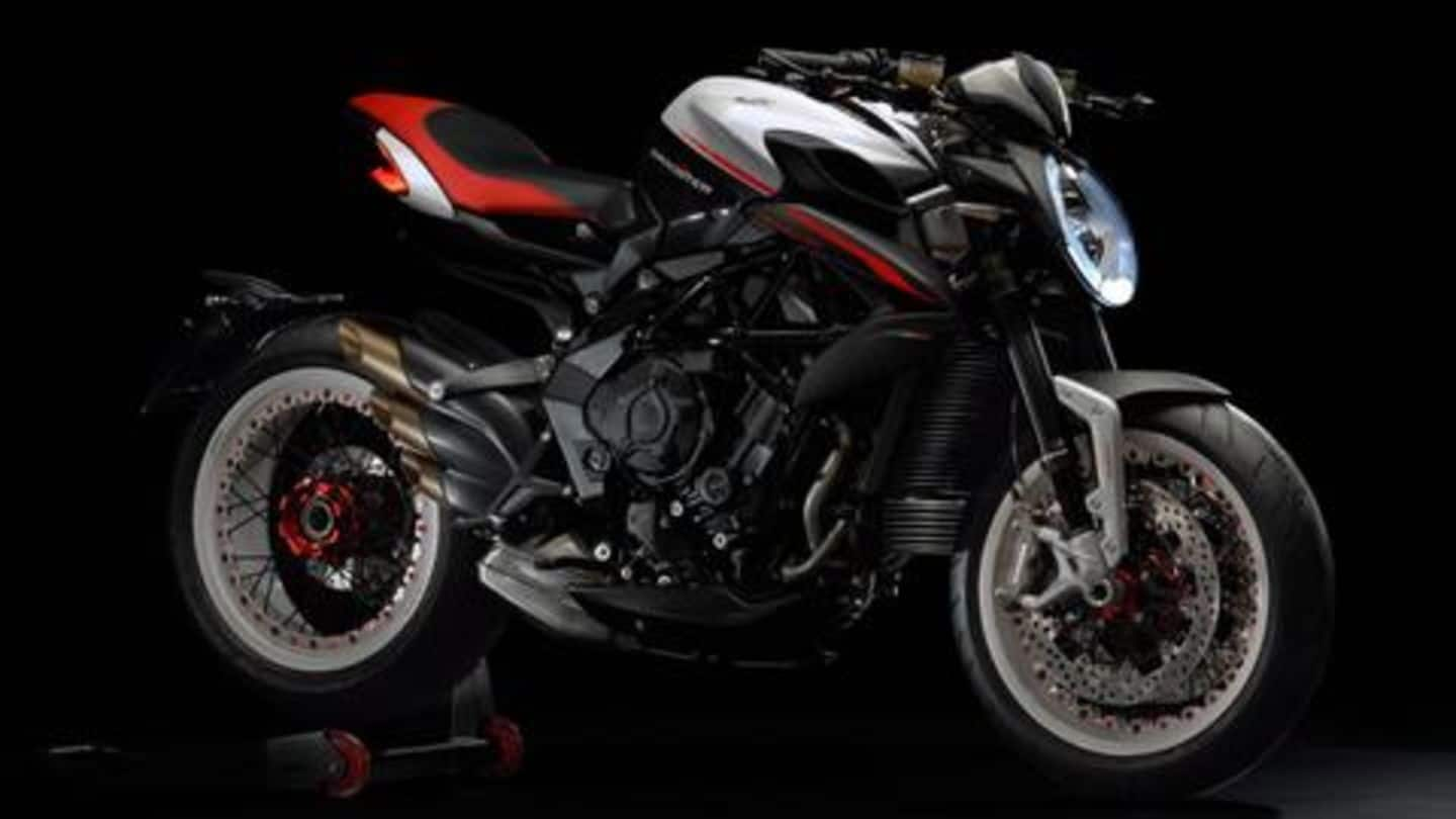 MV Agusta Dragster 800 launched at Rs. 18.73 lakh