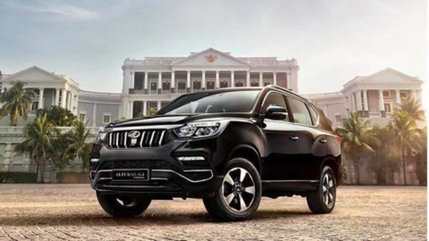Mahindra Alturas G4 available with Rs. 4 lakh discount