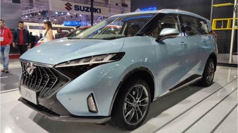 Auto Expo 2020: Haima 7X MPV unveiled in India