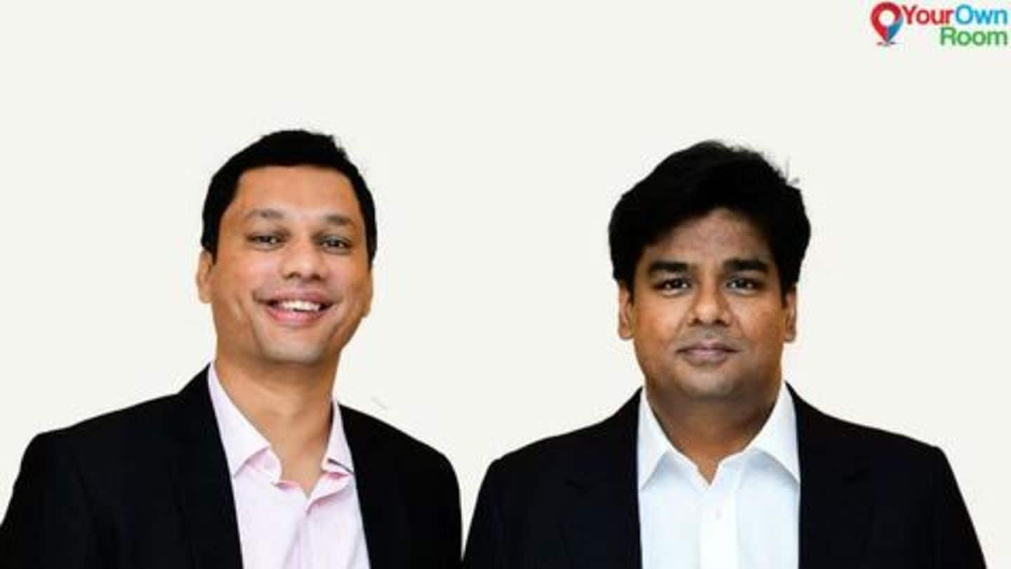 YourOwnROOM raises $1.3 million in seed round of funding