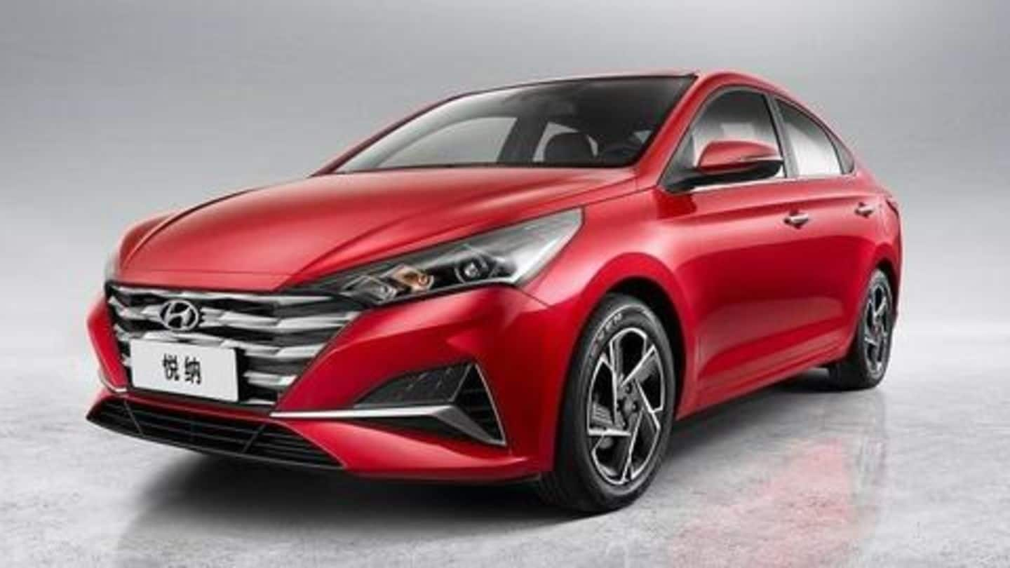 Hyundai releases official images of the India-bound 2020 Verna