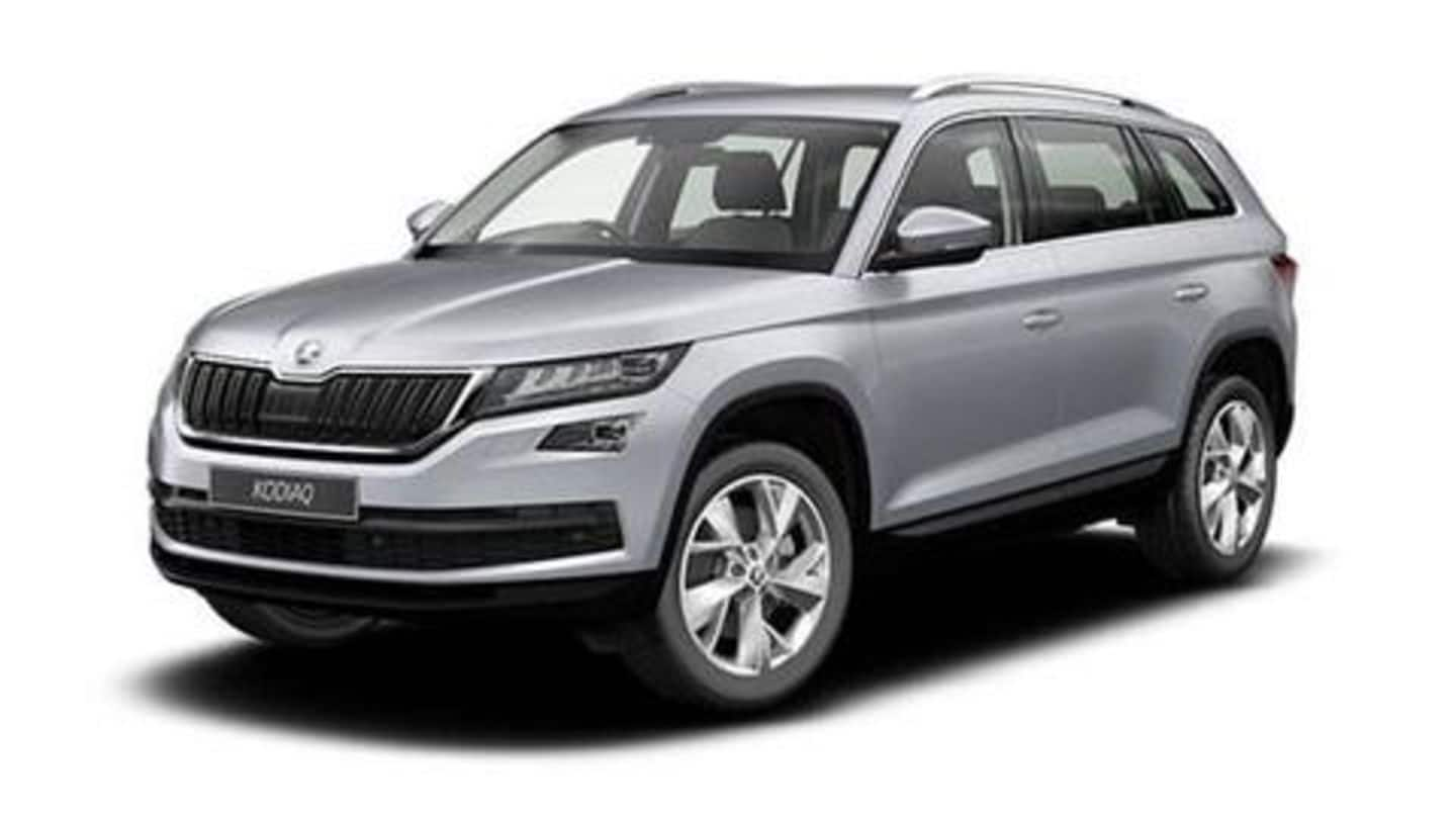 Skoda announces Rs. 2.38 lakh price cut on Kodiaq Style