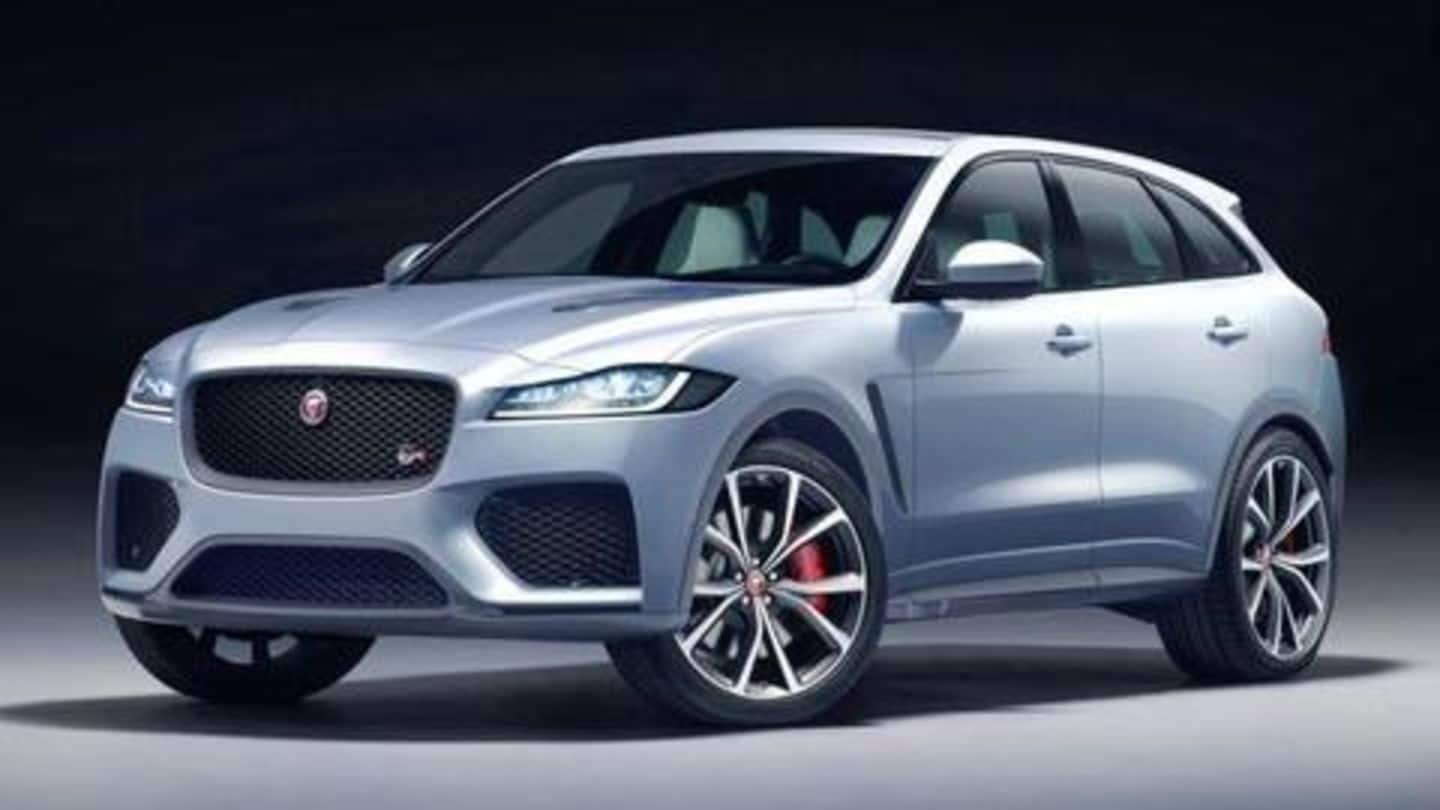 Jaguar F-Pace SVR listed on company's India website, launch imminent