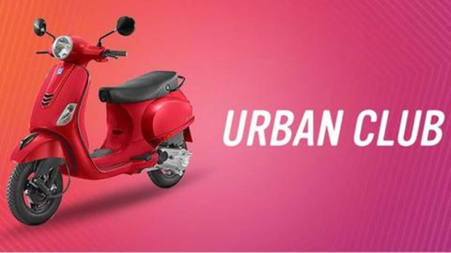 Vespa Urban Club 125cc Launched In India At Rs 74 000 Newsbytes