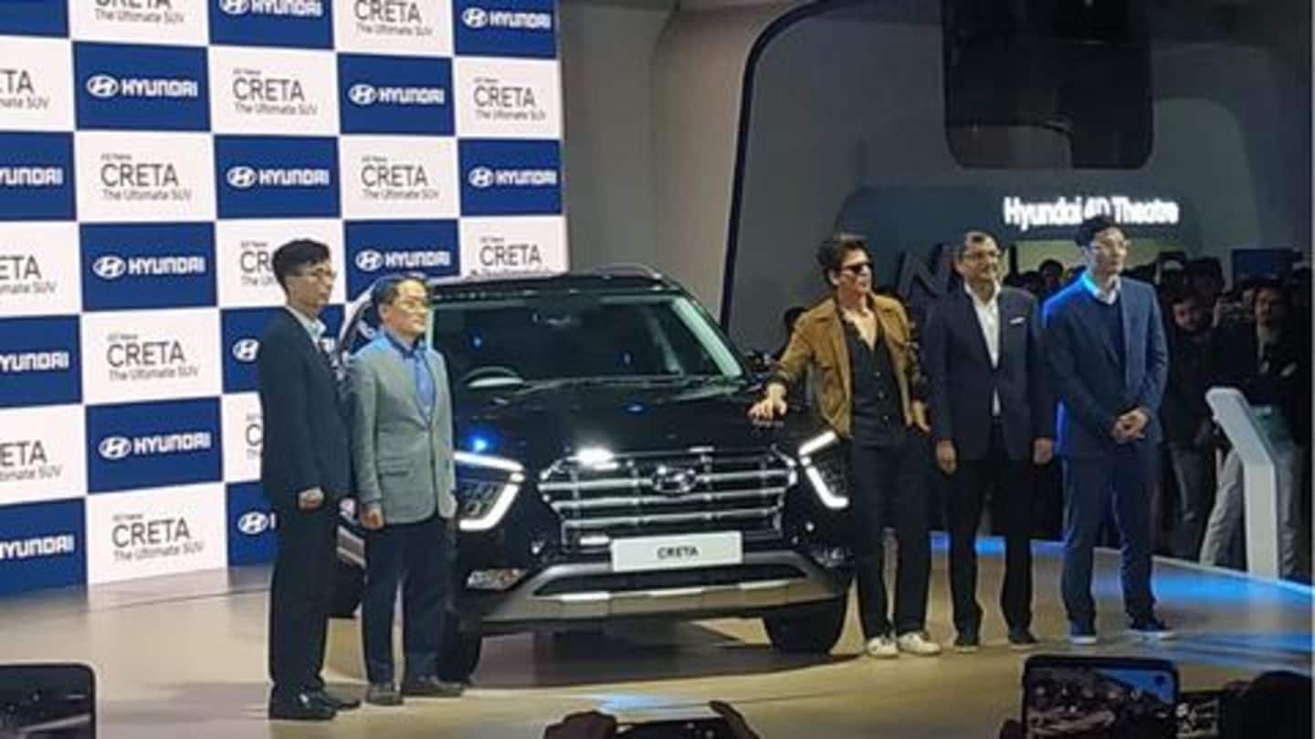 Auto Expo 2020: Next-generation Hyundai Creta unveiled in India