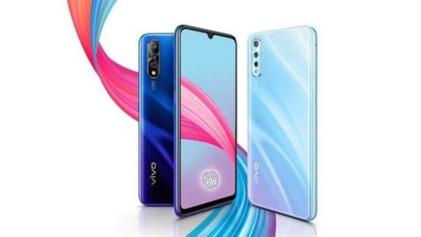 Vivo S1 (6GB/64GB variant) to go on sale from September-9