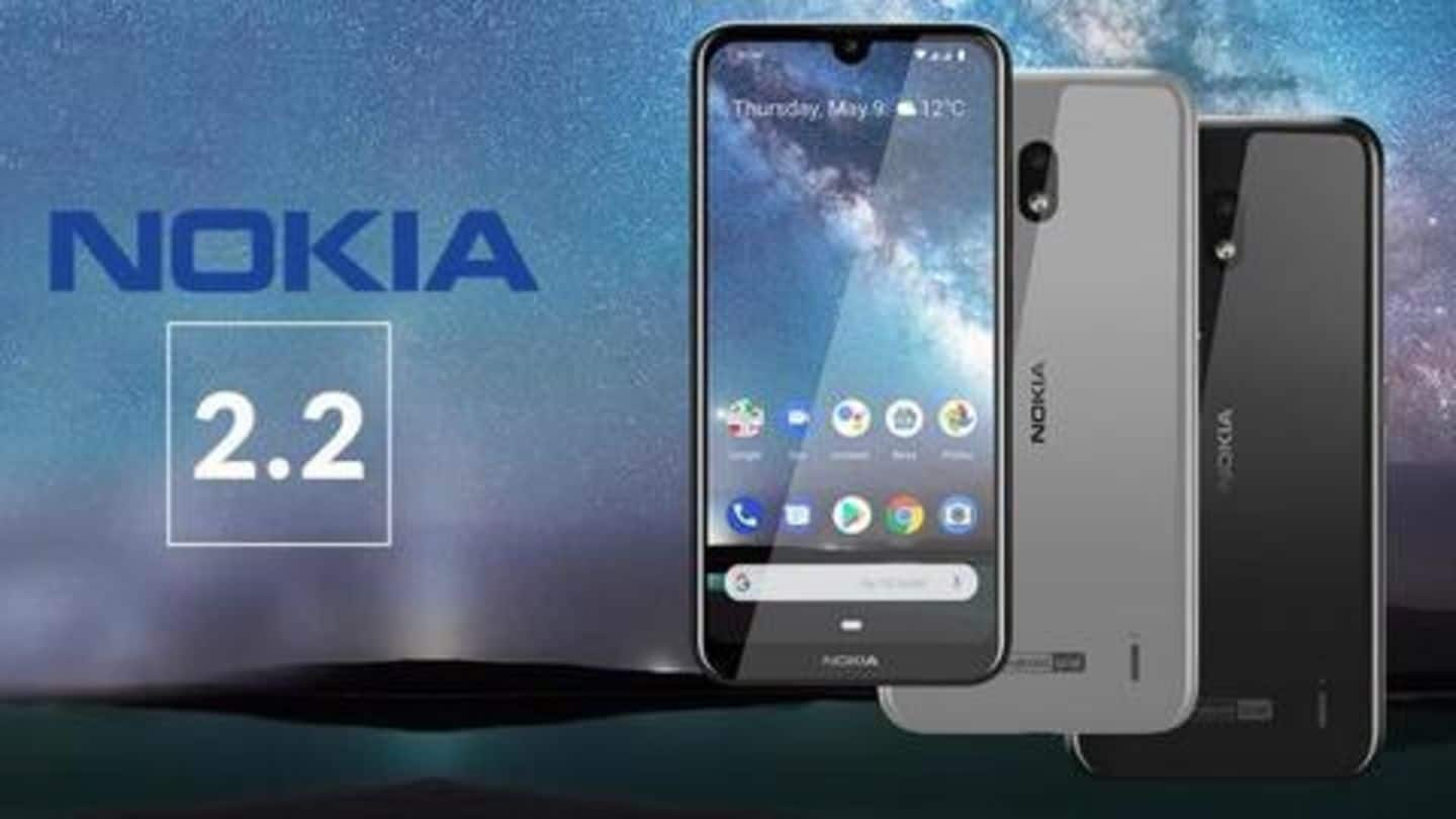 HMD Global announces price cut on Nokia 2.2