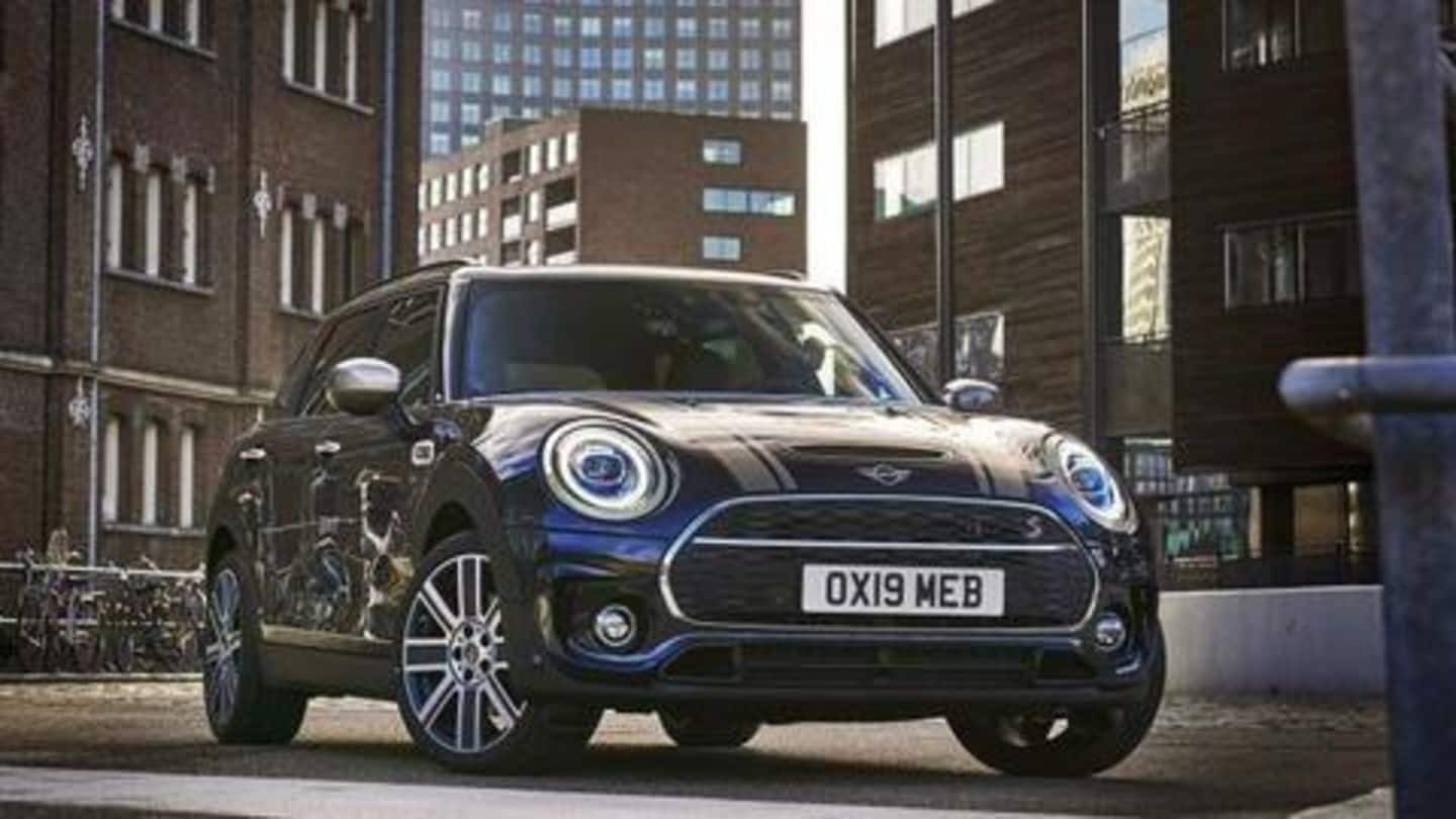 BS6-compliant MINI Clubman facelift spotted in India: Details here