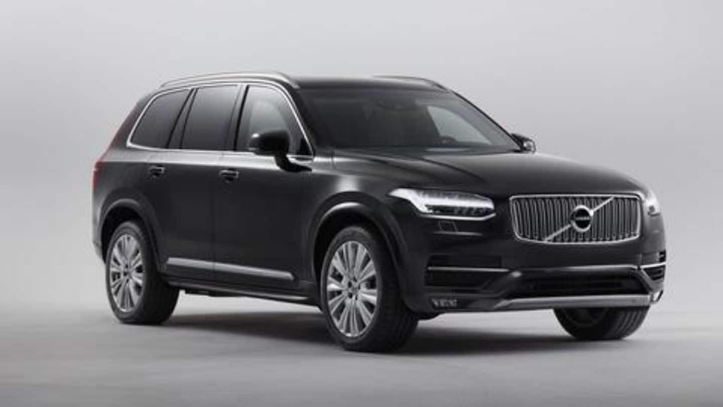 Volvo XC90 Excellence to be launched on September 3