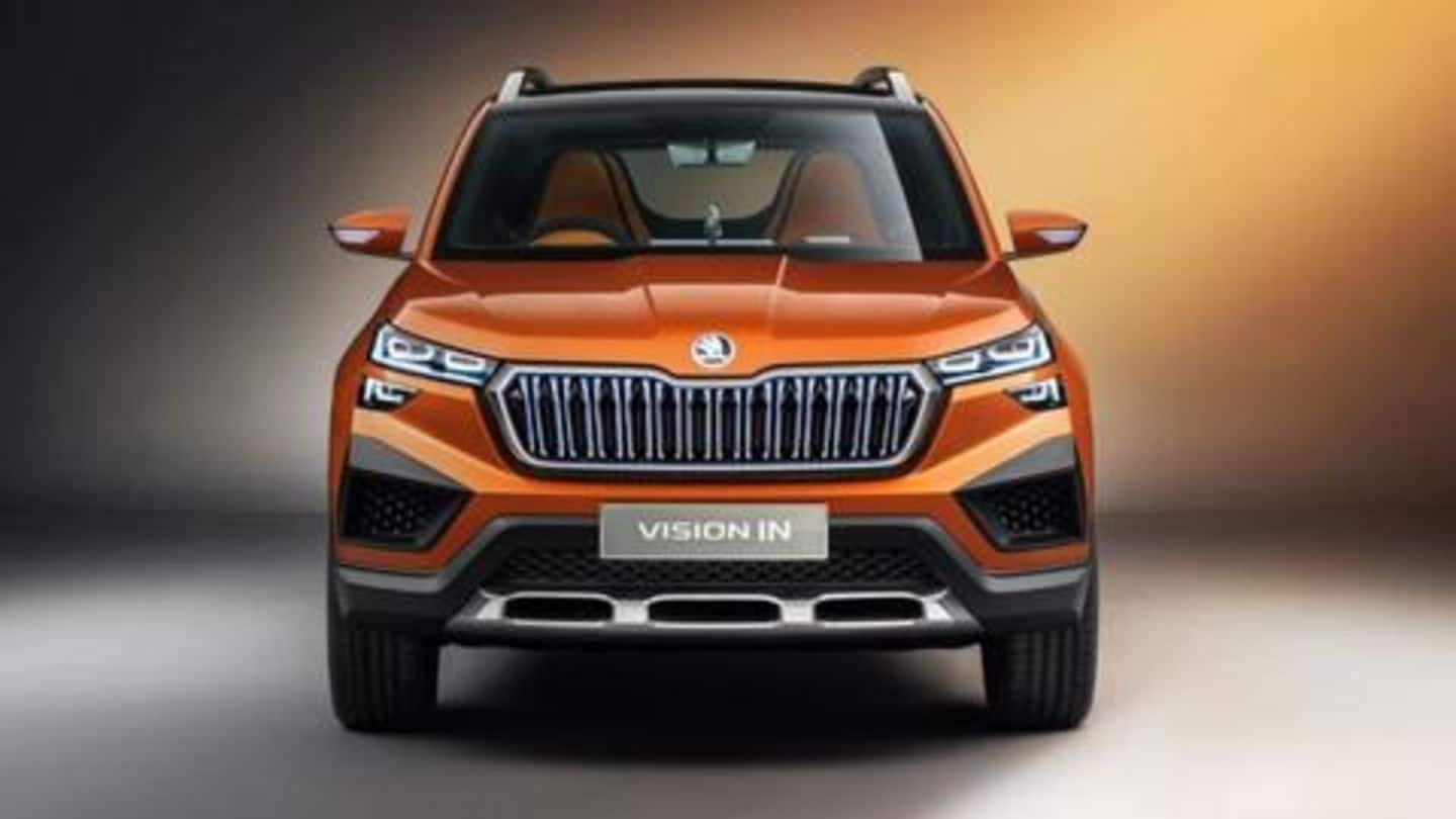 Skoda Vision IN concept unveiled in India: Details here