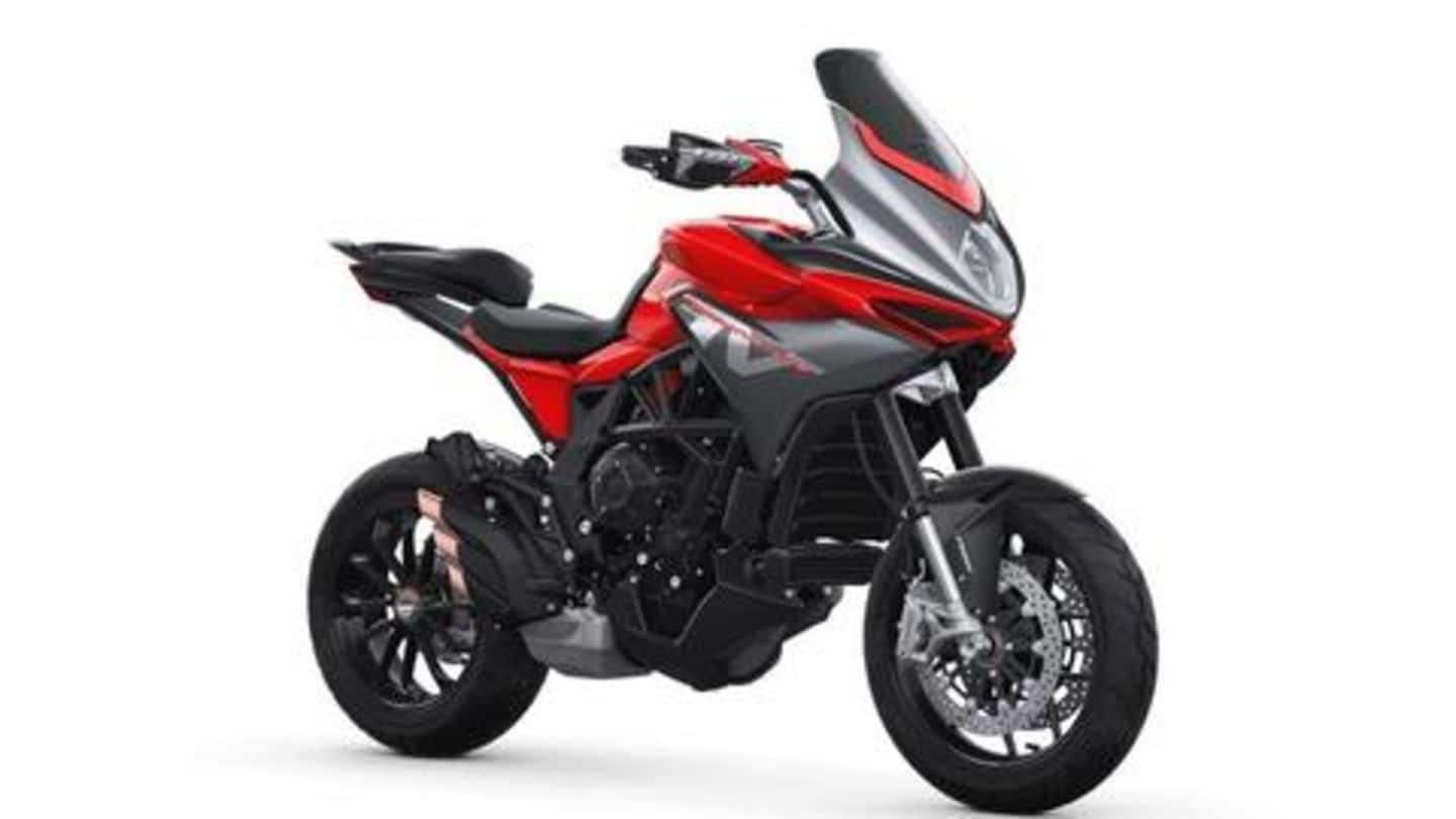 MV Agusta's superbike Turismo Veloce 800 is almost here