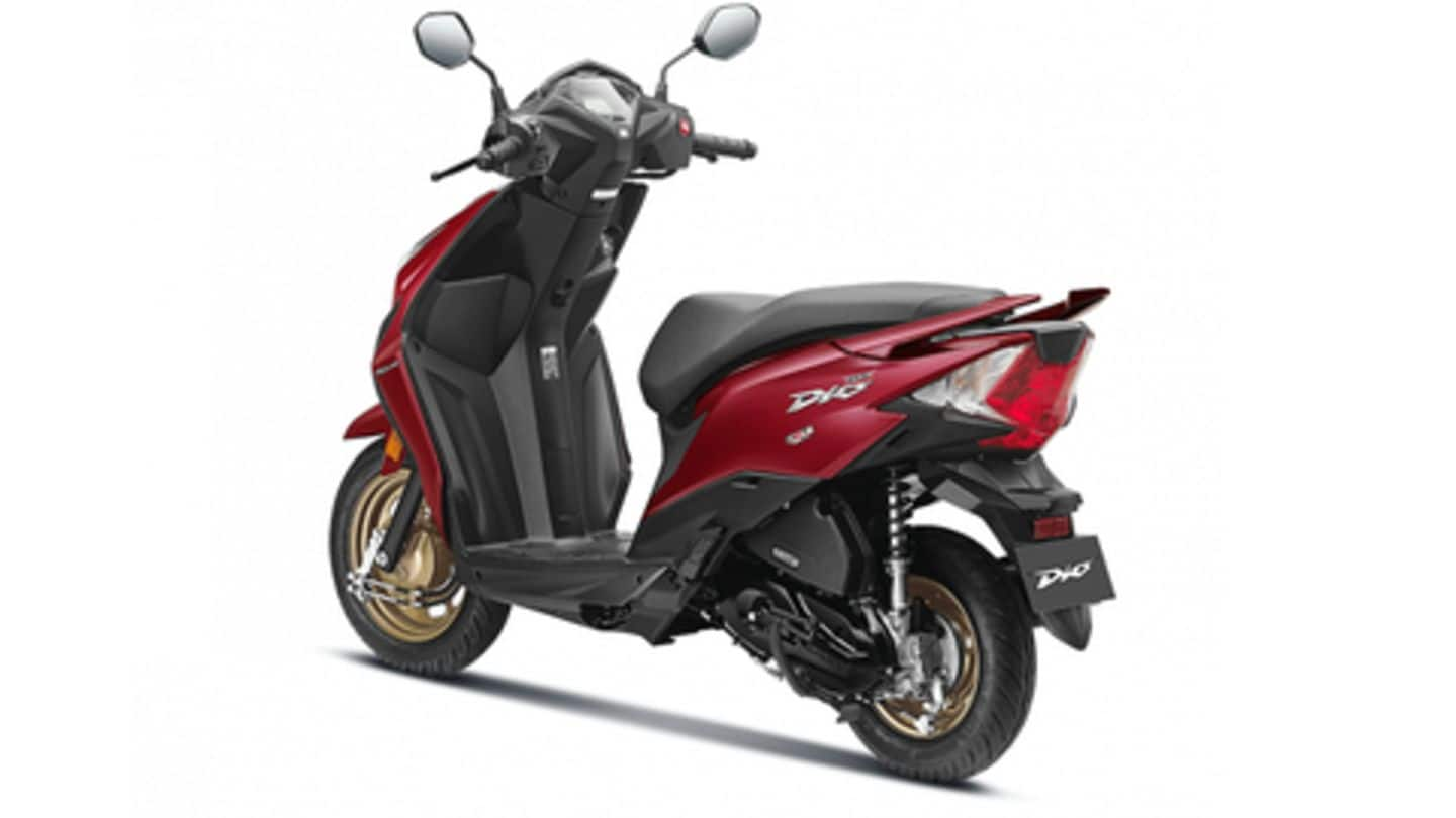 Honda Launches Bs6 Compliant Dio Scooter At Rs 60 000 Newsbytes