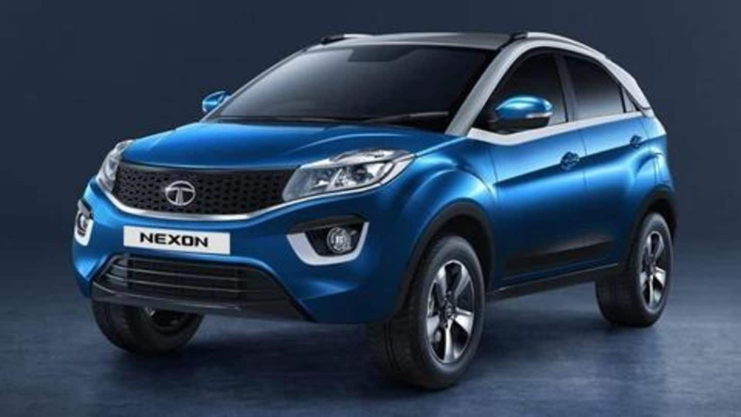 2020 Tata Nexon spotted testing in India, launch imminent