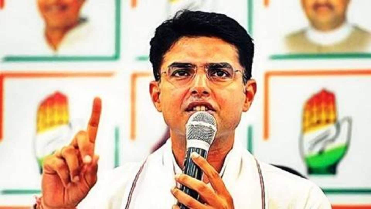 Farmers' issue, job creation top Rajasthan government agenda: Sachin Pilot