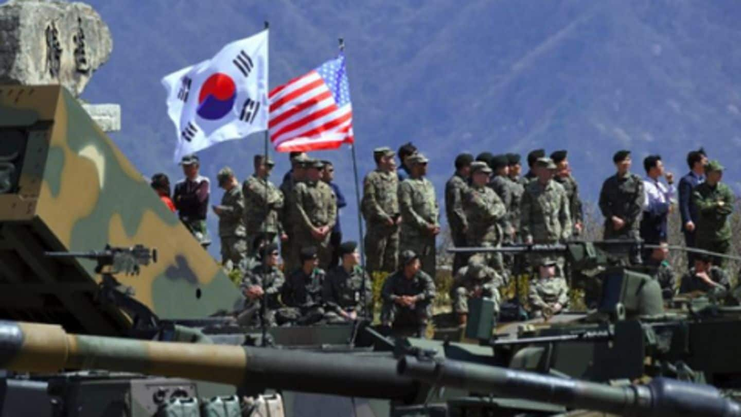South Korea, US to end their large-scale joint military exercises