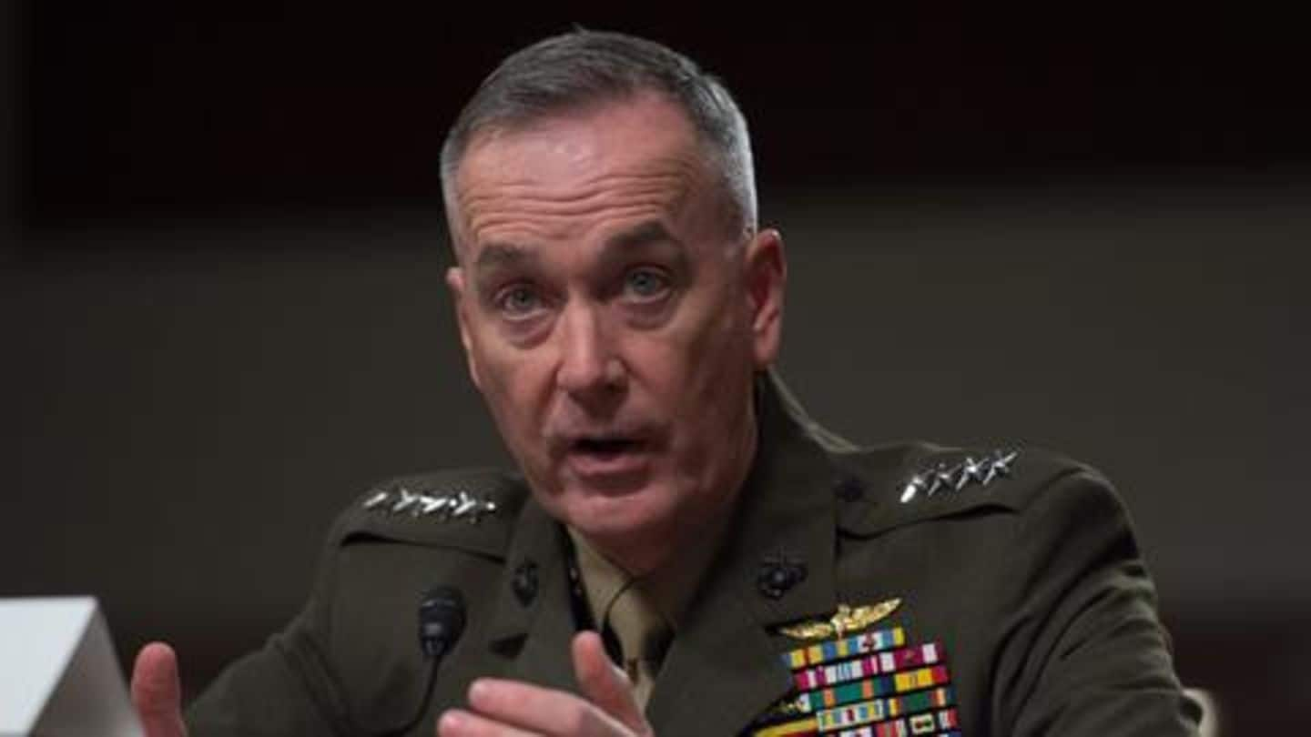 Top US-General discusses current security environment with Pakistani counterpart: Pentagon