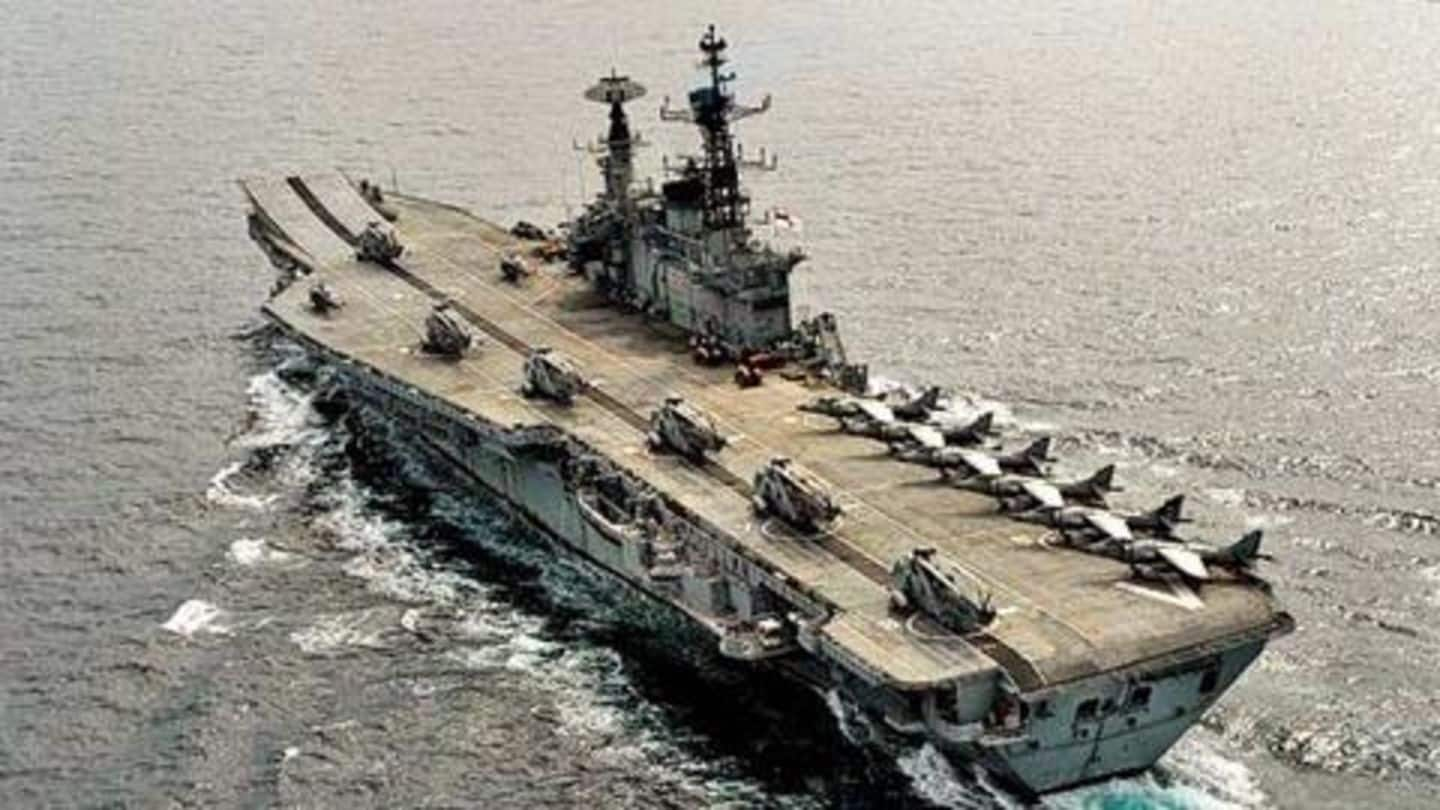 Only dignified activities allowed on INS Viraat: Vice Admiral Luthra