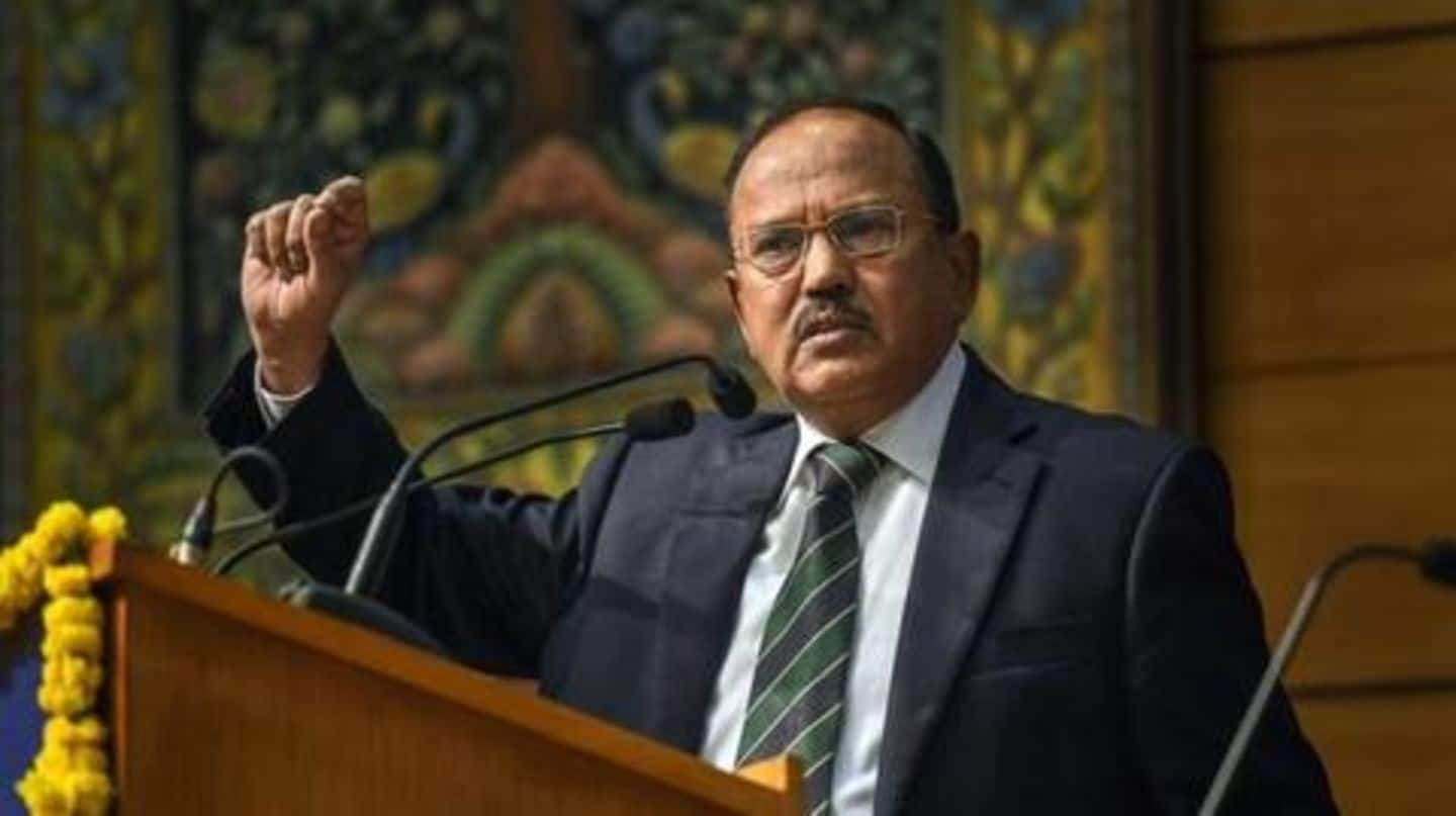 Citing NSA's 2010-interview, Congress says Doval gave 'clean-chit' to Azhar