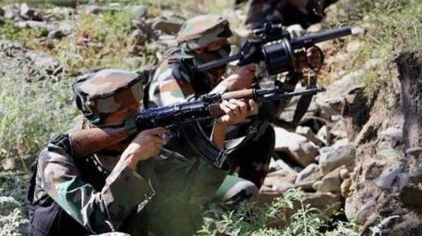 Poonch: Pakistani troops violate ceasefire, target Army posts and villages