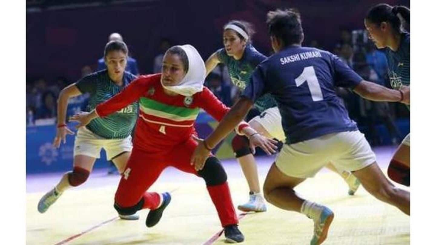 #AsianGames2018: Indian women lose kabaddi gold for first-time in history