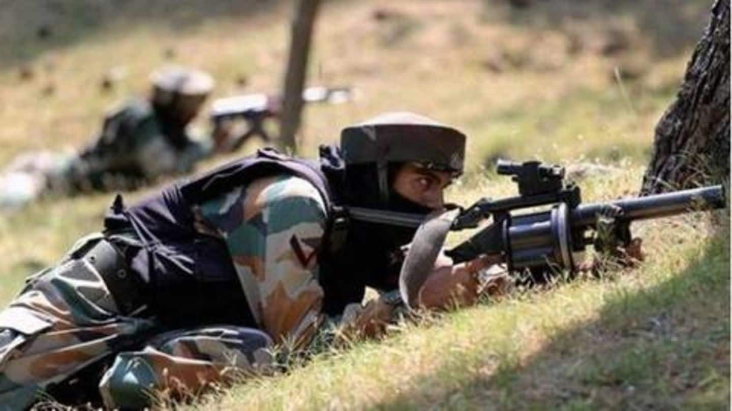 J&K: Pakistan shells forward posts, injures Army major, BSF jawan