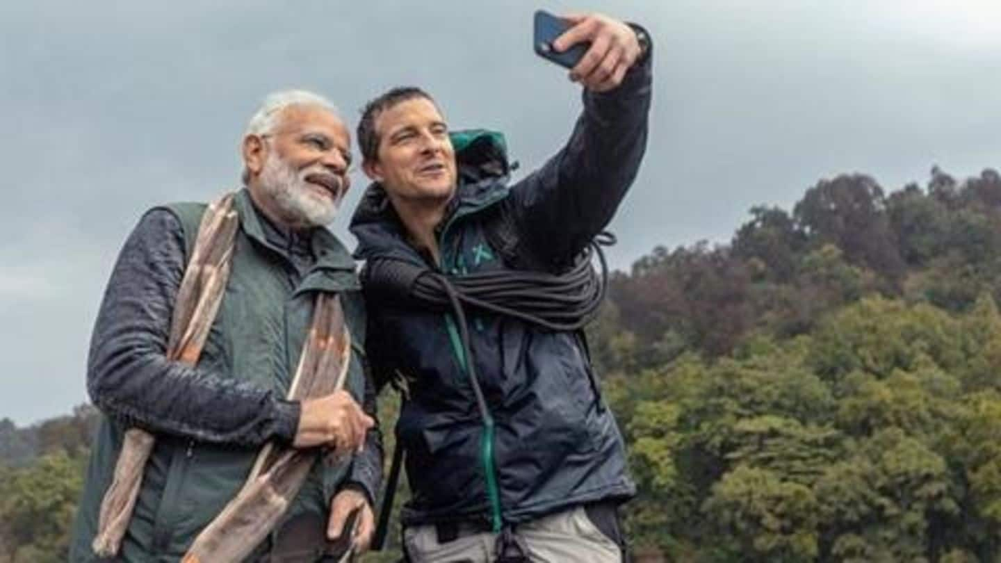 #MannKiBaat: PM Modi reveals how he communicated with Bear Grylls