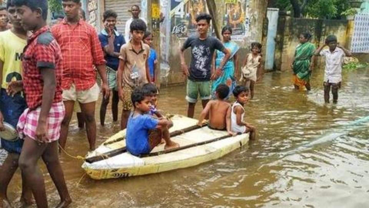 Tamil Nadu rains: 15 people killed, schools closed