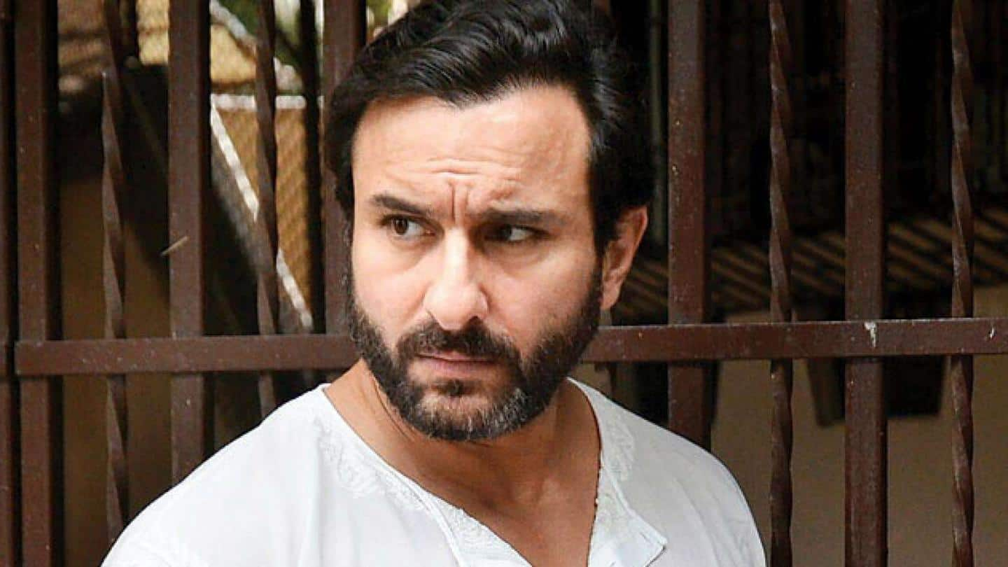 Case filed against Saif Ali Khan over controversial 'Adipurush' comment