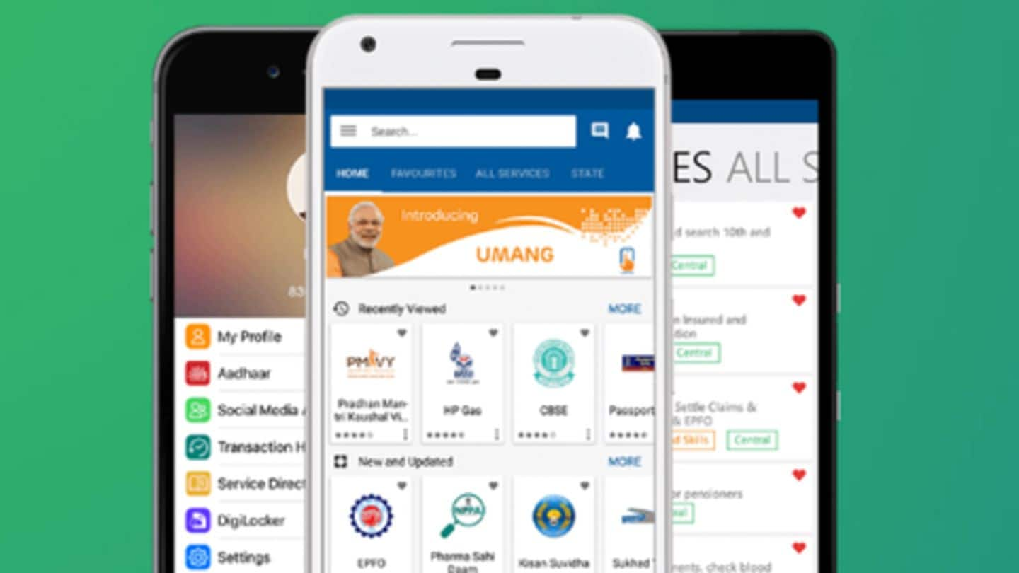 UMANG app: Services offered, and how to register