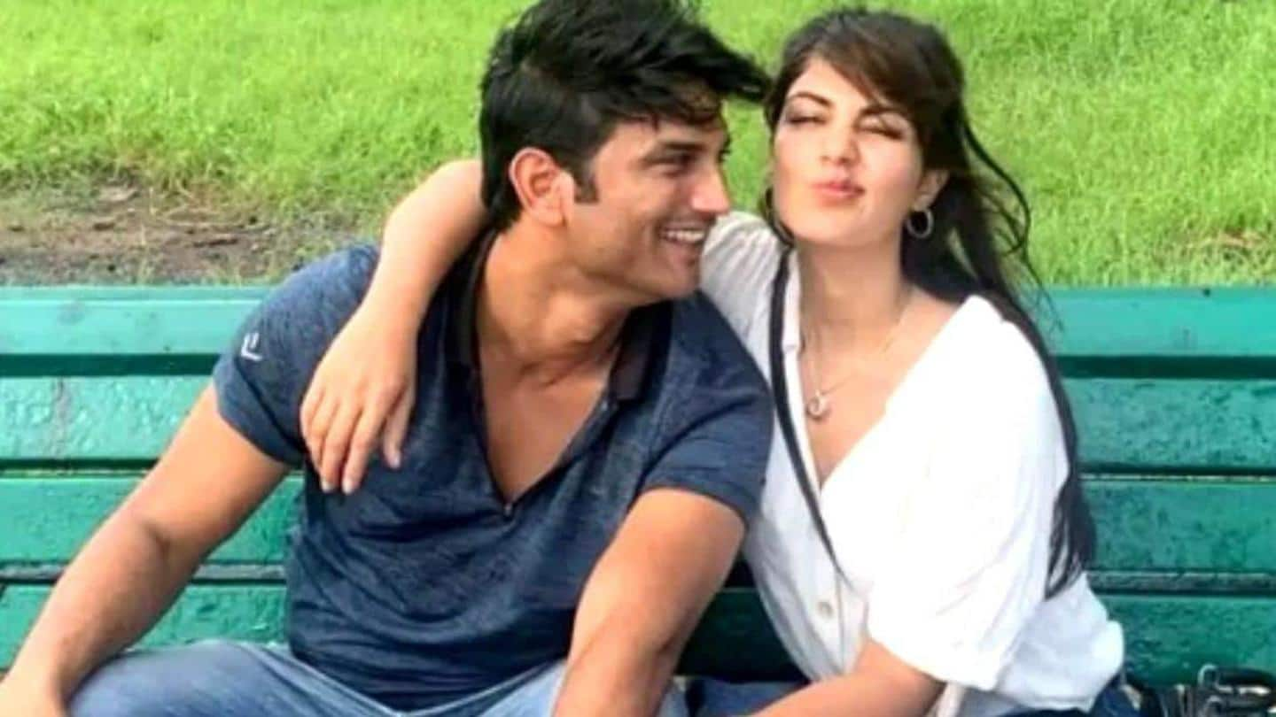 After ED questioning, Rhea shares 'gratitude list' written by Sushant