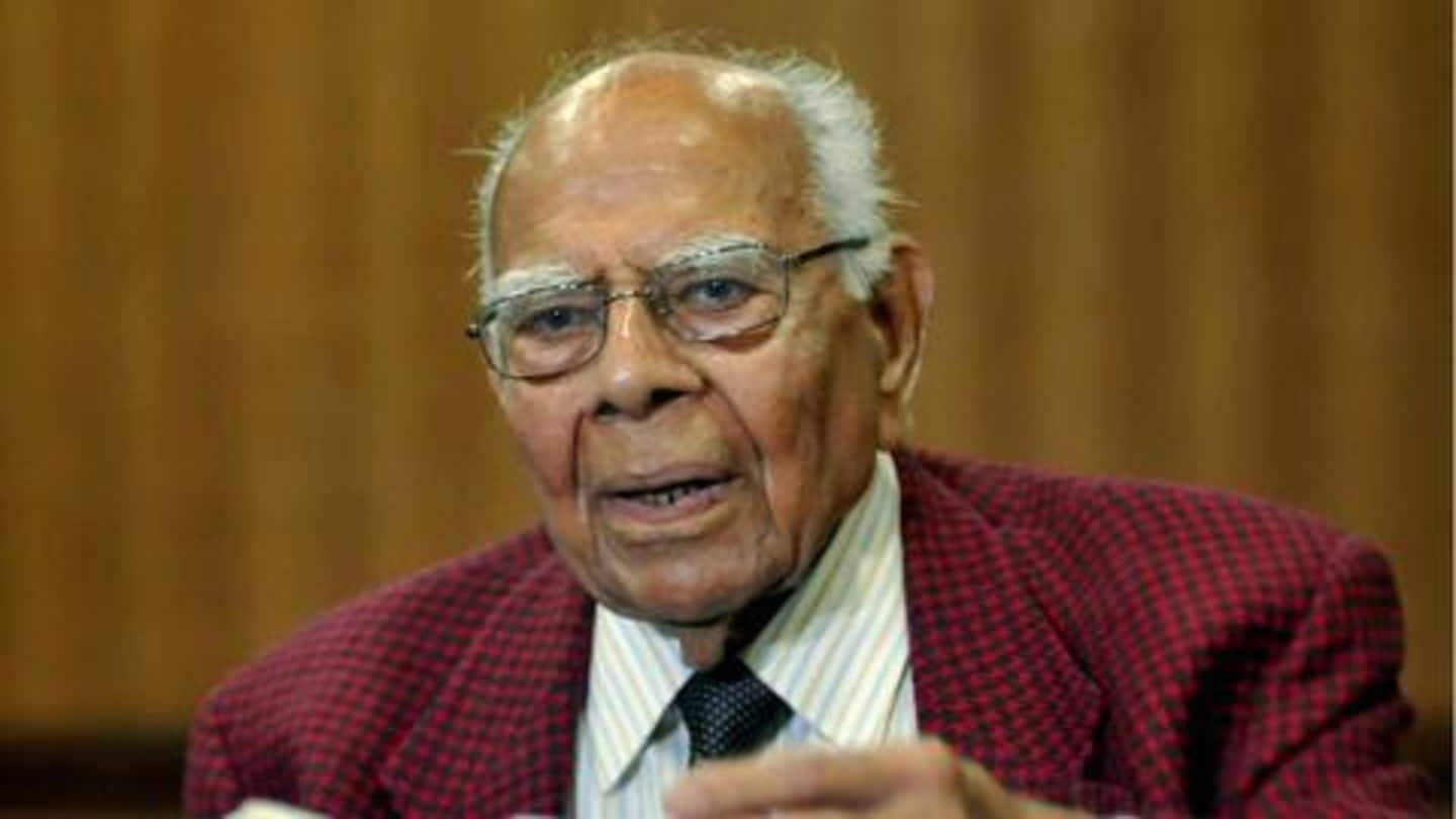 Witty, courageous, and bold: PM Modi mourns Ram Jethmalani's death