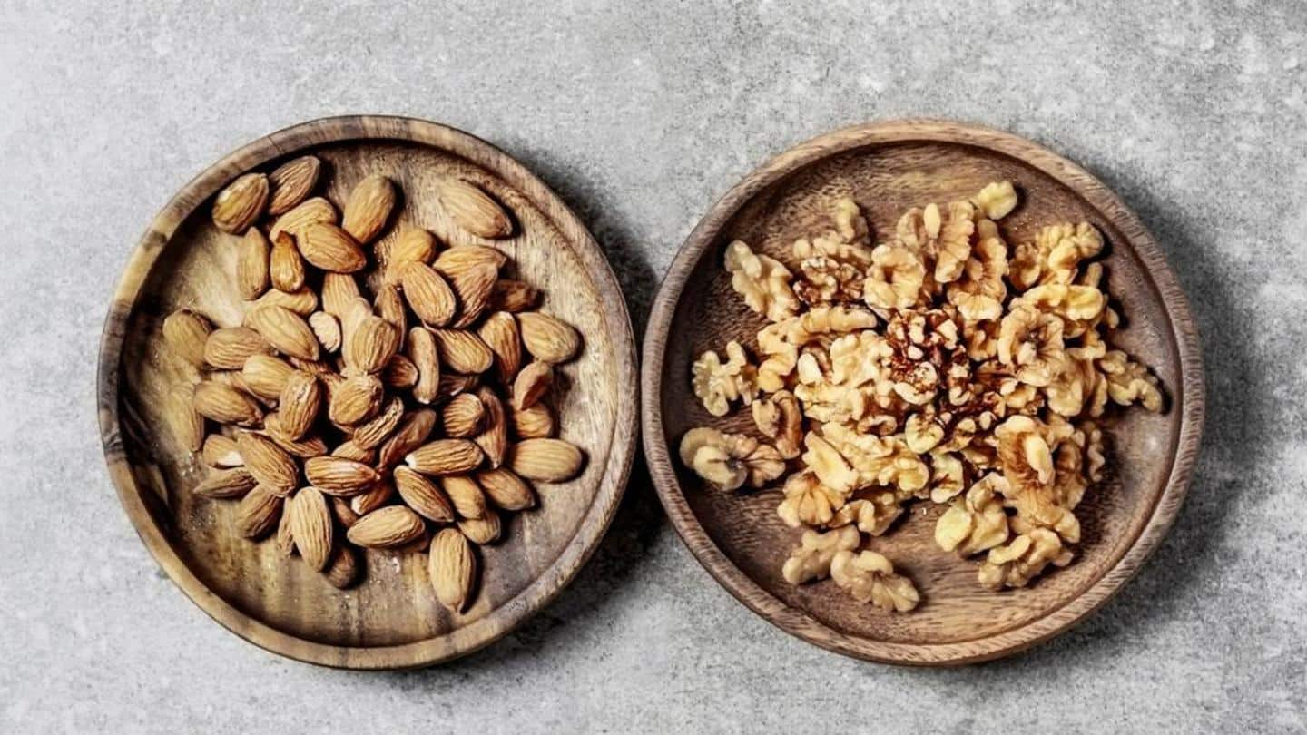 Almonds v/s Walnuts: Which are better for you?