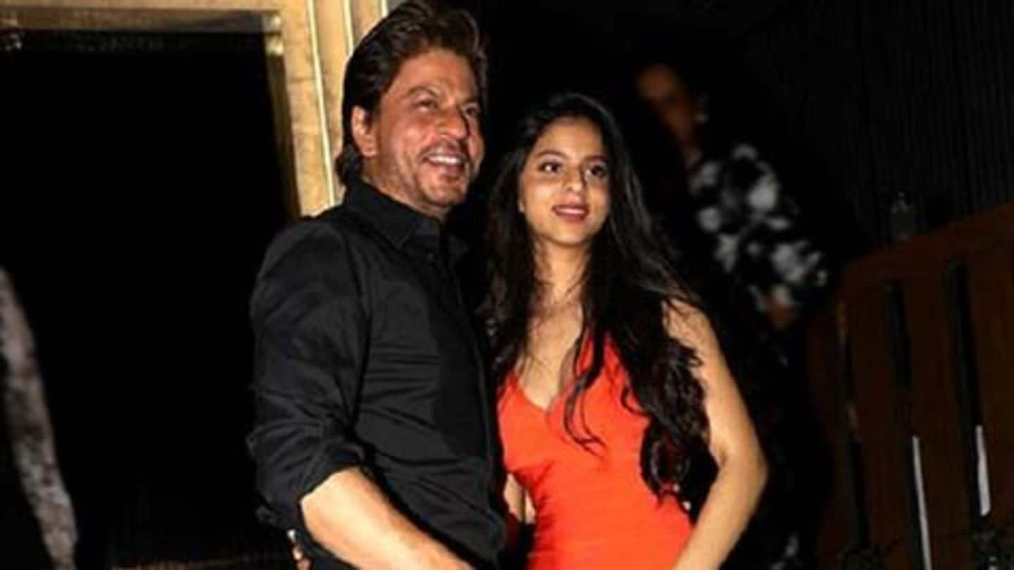 SRK has a special message for Suhana, on her graduation