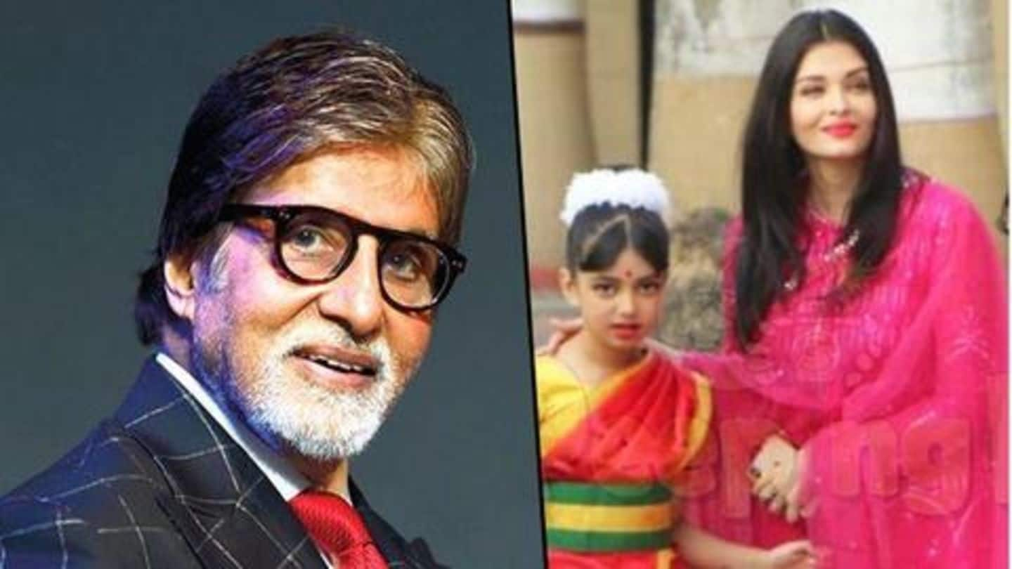 Aaradhya delivers powerful performance at school annual day; Amitabh elated
