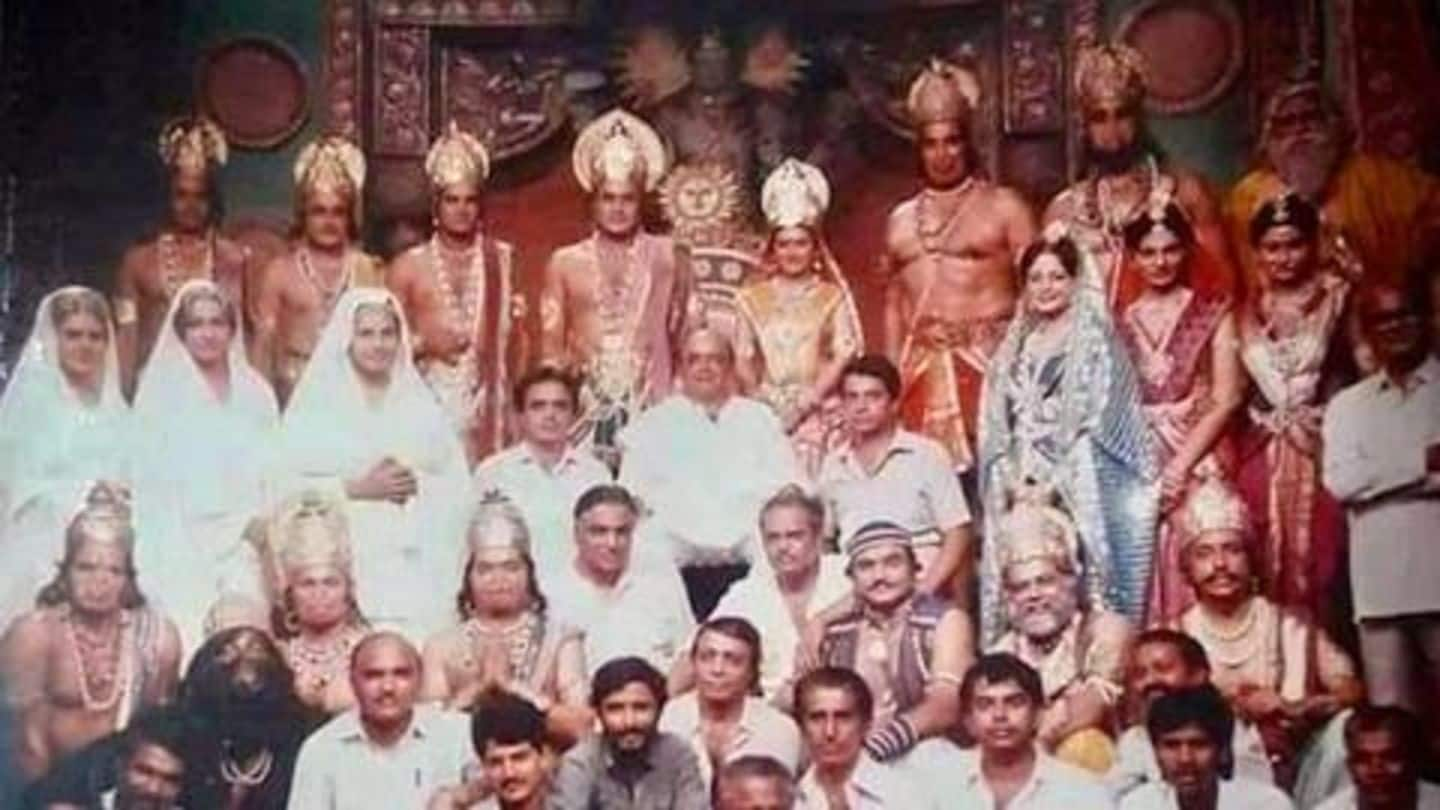 'Ramayan': Reel-life Ram and Sita share iconic throwback picture