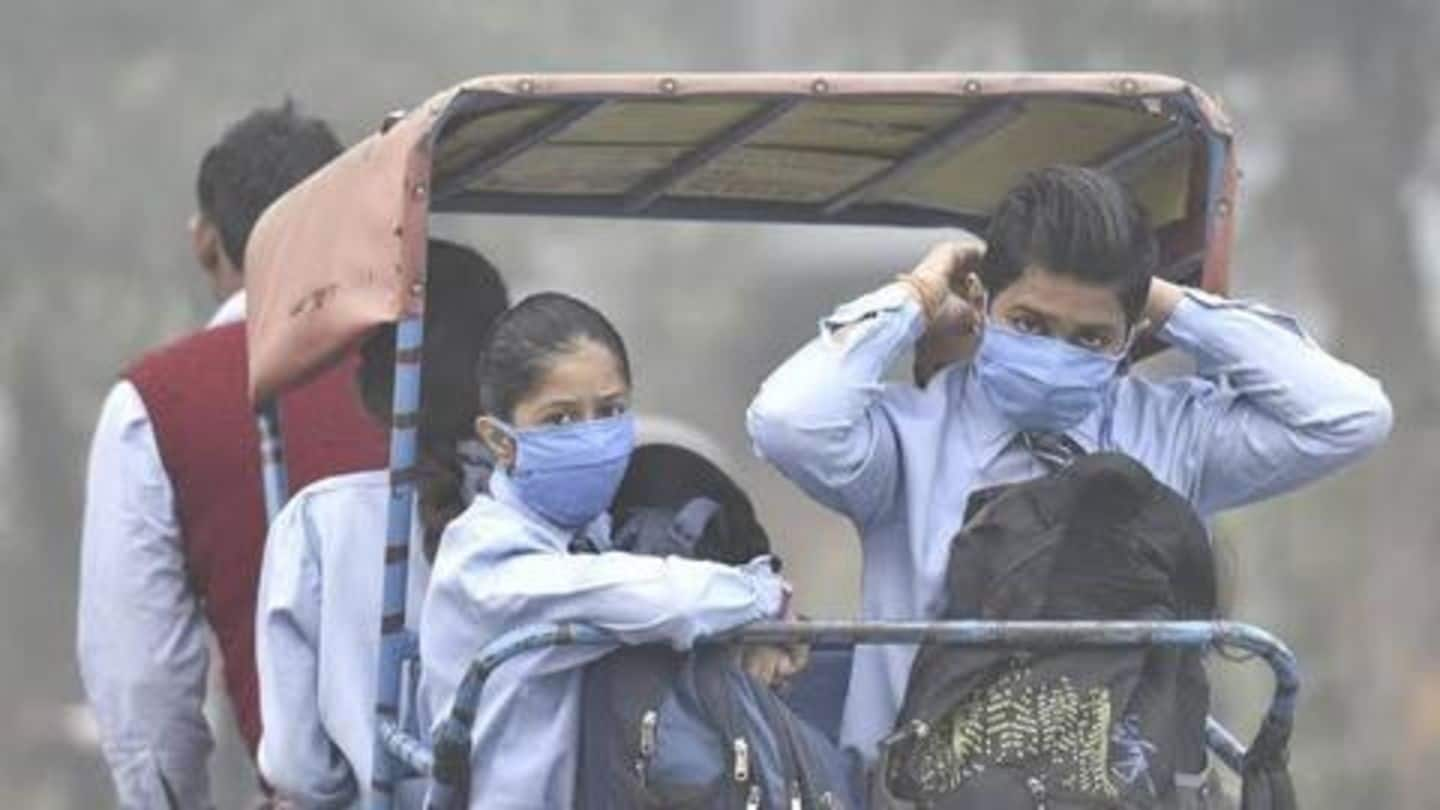 Delhi air quality becomes severe: How to protect your children