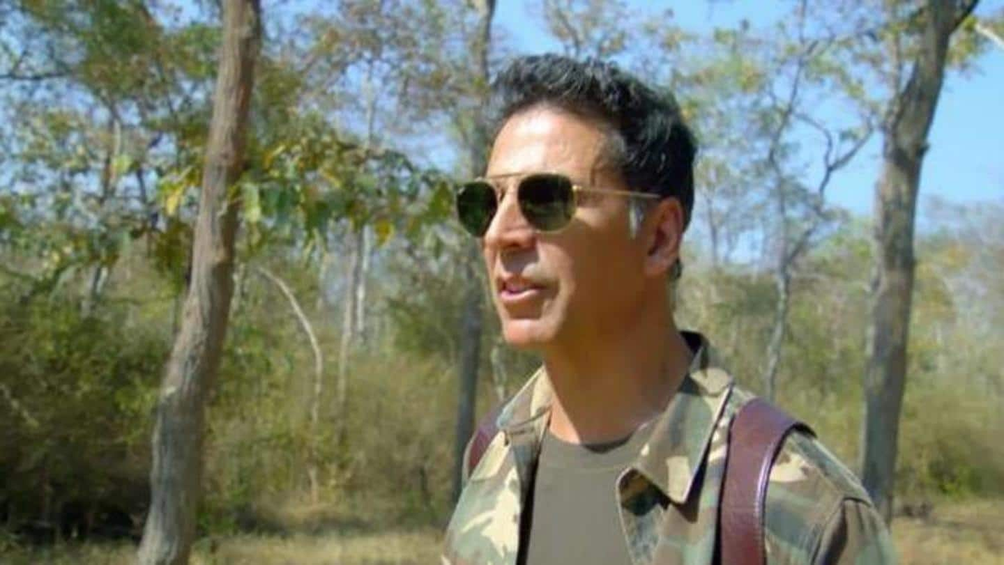 "New 'Into The Wild' teaser features Akshay and ""elephant-poop tea"""