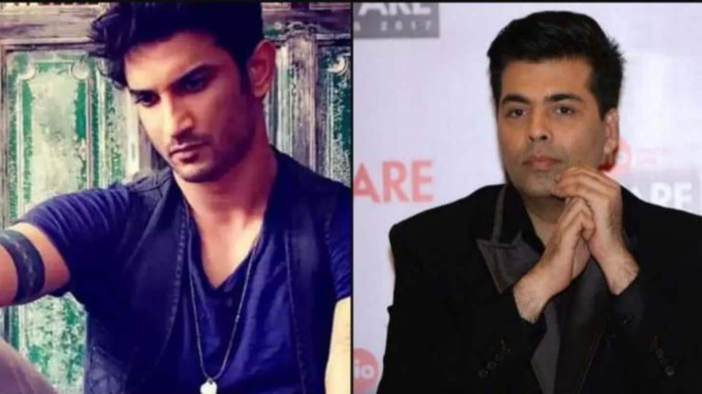 "Karan Johar ""shattered"" over hatred after Sushant's death, reveals friend"