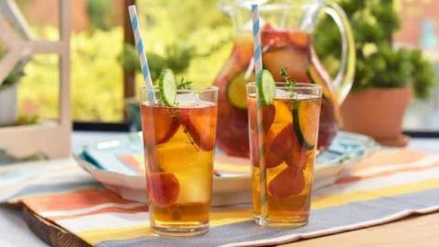 Want to quit caffeine? Try this fruit-infused tea