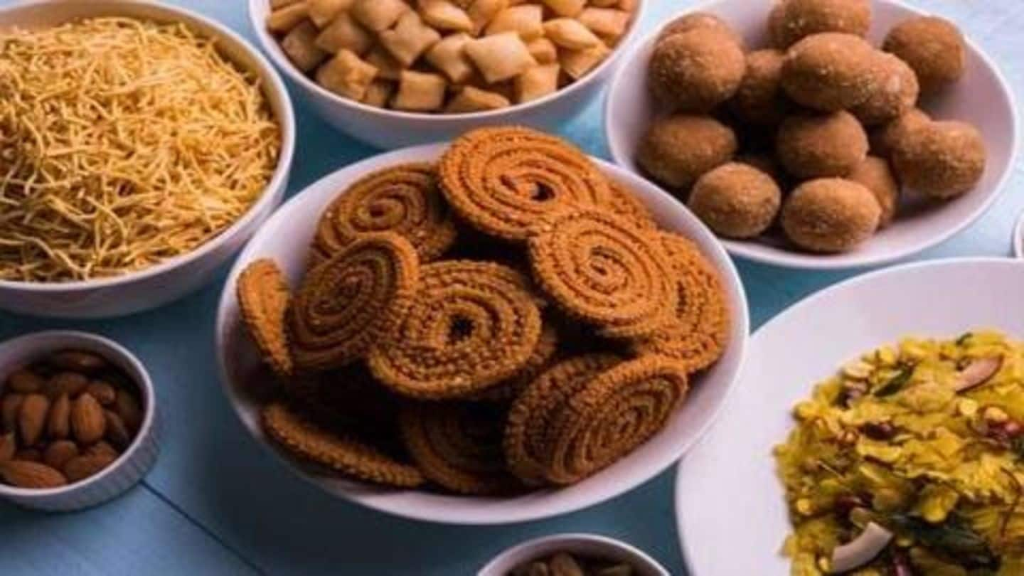 Five healthy and delicious snacks for Diwali and Bhai Dooj