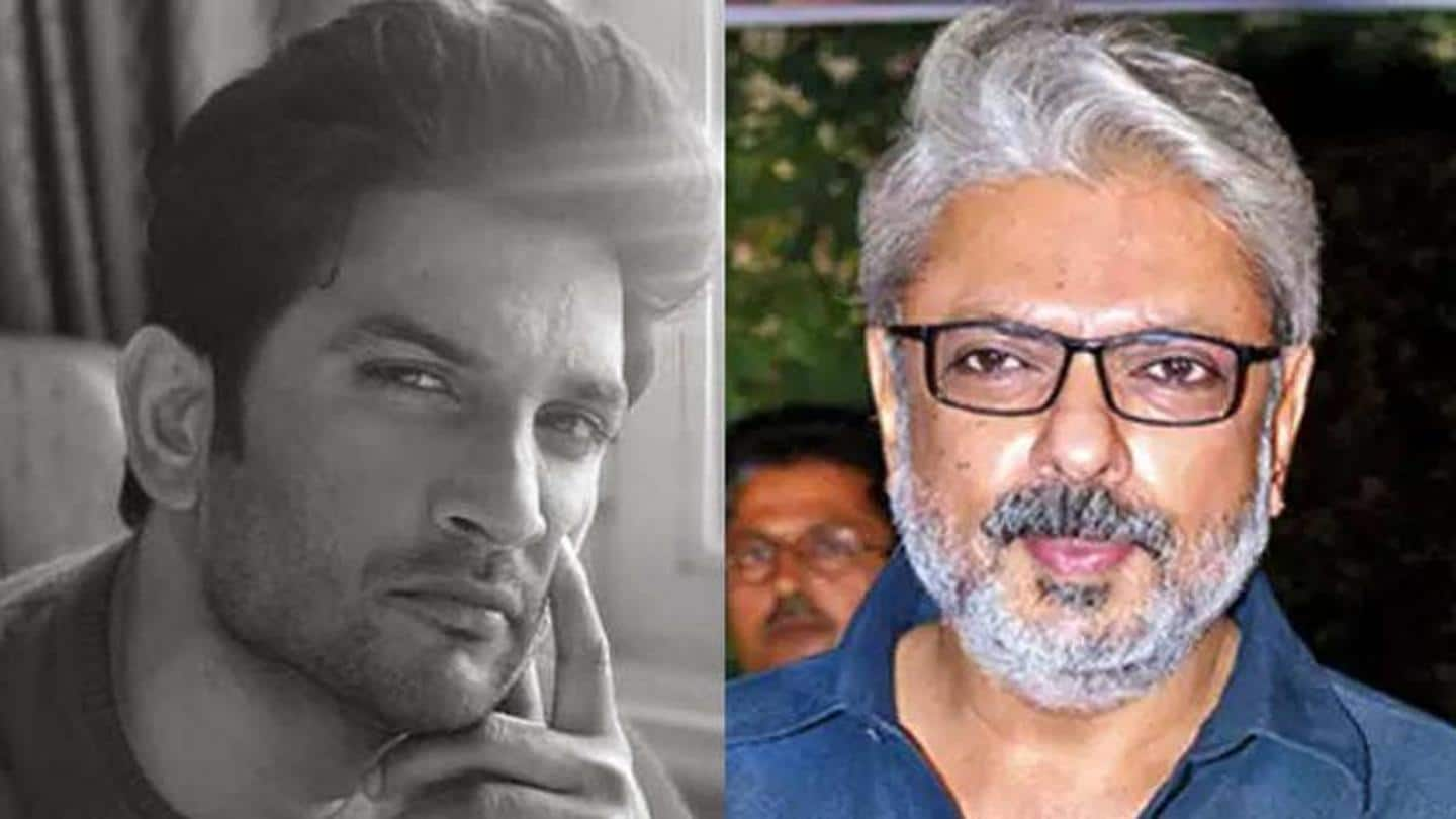Bhansali wanted to cast Sushant in four films, says police