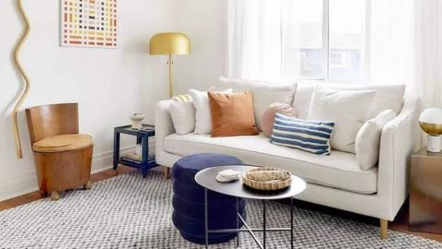 Have a small living room? Here's how to create space