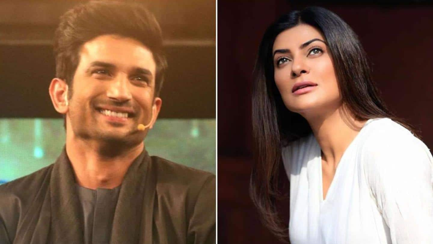 From one Sush to another: Sushmita remembers Sushant Singh Rajput