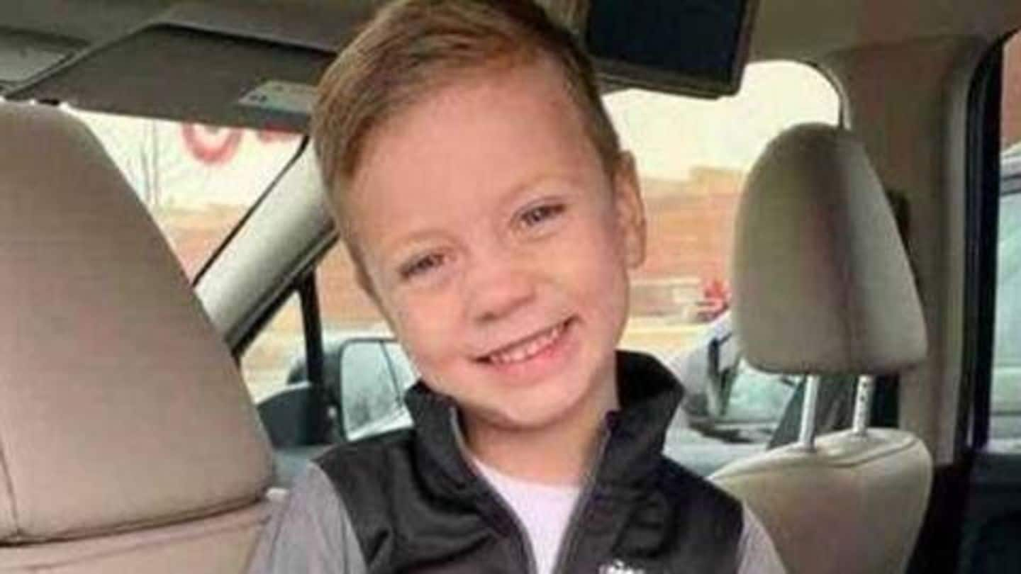 US: 5-year-old boy thrown off mall balcony, joins back school